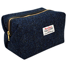 Buy Harris Tweed Herringbone Box Holdall Online at johnlewis.com