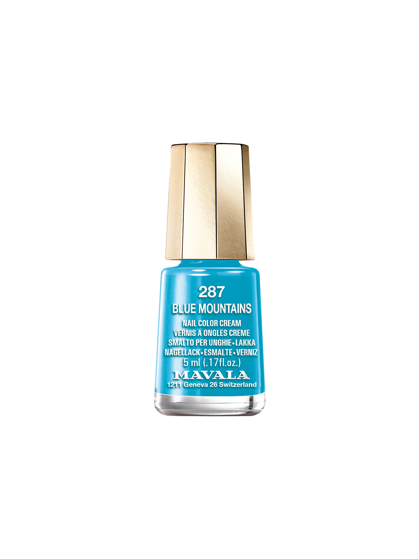 BuyMAVALA Nail Colour - Colour Inspiration Collection, 5ml, Blue Mountains Online at johnlewis.com