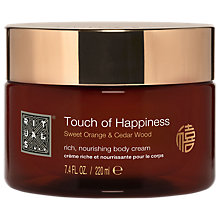 Buy Rituals Laughing Buddha Touch Of Happiness Nourishing Body Cream, 220ml Online at johnlewis.com
