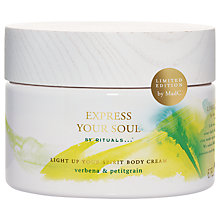 Buy Rituals Express Your Soul Light Up Your Body Cream, 200ml Online at johnlewis.com