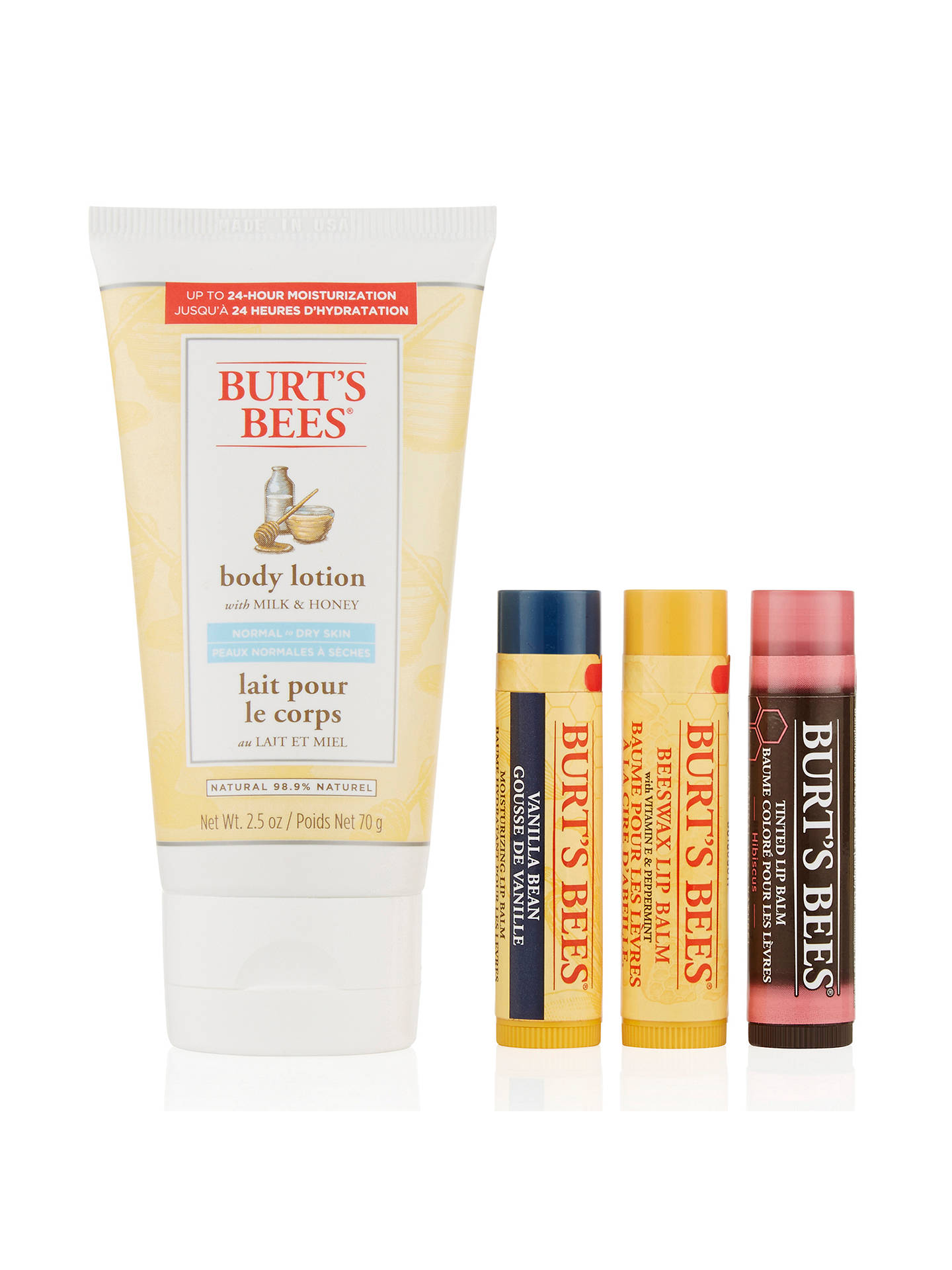 BuyBurt's Bees The Natural Edit Gift Set Online at johnlewis.com