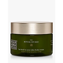 Buy Rituals The Ritual Of Dao Body Cream, 220ml Online at johnlewis.com