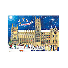 Buy Alison Gardiner Christmas Cathedral Advent Calendar Card Online at johnlewis.com