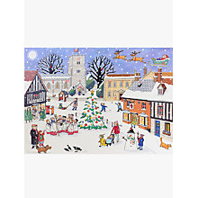 Buy Alison Gardiner Village Square Christmas Large Advent Calendar Online at johnlewis.com