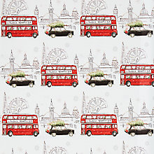 Buy John Lewis Lima Llama Greetings London Gift Wrap, W70cm x Roll Length 300cm Online at johnlewis.com