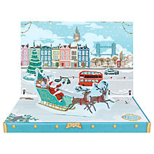 Buy Christmas in London Music Box Christmas Card Online at johnlewis.com