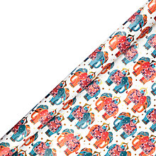 Buy John Lewis Tales of the Maharaja Elephant Gift Wrap, W70cm x Roll Length 300cm Online at johnlewis.com