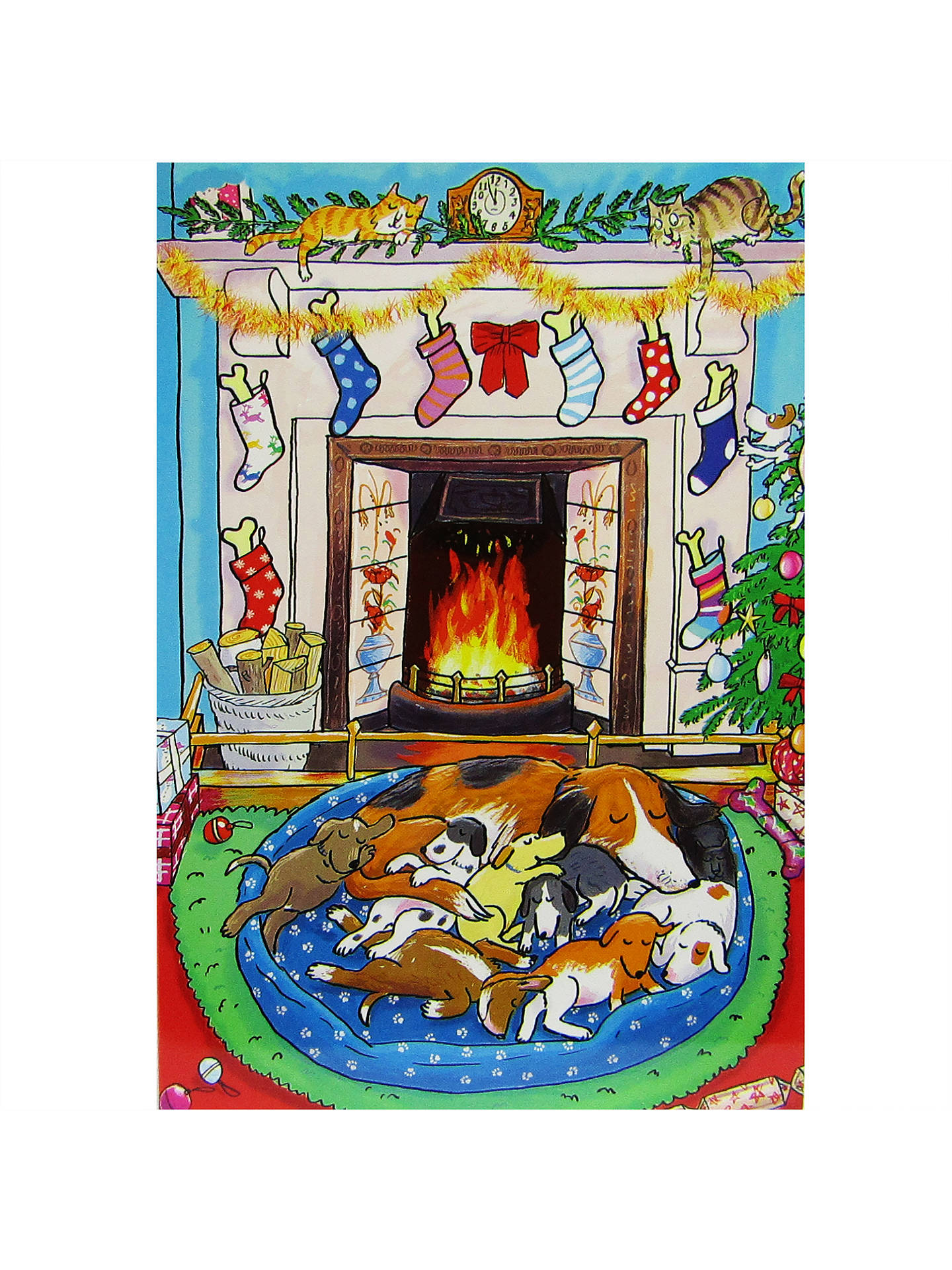 Battersea Dogs Cat Home Charity Christmas Cards Box Of  Woodmansterne Christmas Gift