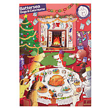 Buy Woodmansterne Battersea Dogs and Cats Home Medium Advent Calendar Online at johnlewis.com