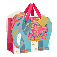 Buy John Lewis Tales of the Maharaja Elephant Shaped Bag Online at johnlewis.com