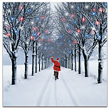 Buy Darkroom New Fun Santa Christmas Cards, Pack of 16 Online at johnlewis.com