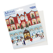Buy Woodmansterne Christmas Shopping Advent Calendar Card Online at johnlewis.com