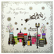 Buy Five Dollar Shake Colourful Village Christmas Cards, Pack of 6 Online at johnlewis.com