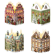 Buy Coppenrath Nostalgic Christmas House Mini Advent Calendar Lantern, Assorted Online at johnlewis.com