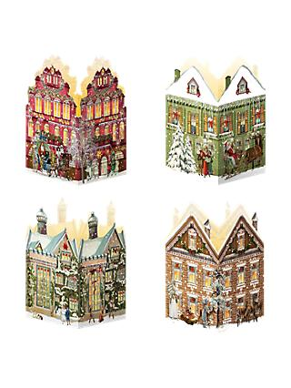 2efd8b39332 Coppenrath Nostalgic Christmas House Mini Advent Calendar Lantern, Assorted