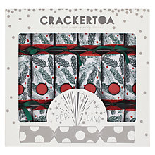 Buy Crackertoa Pine Needle Christmas Crackers, Pack of 6, Red/Green Online at johnlewis.com