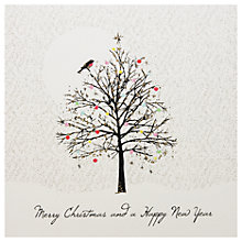 Buy Five Dollar Shake Adorned Tree Christmas Cards, Pack of 6 Online at johnlewis.com