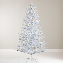 Buy John Lewis Snow Queen Pre-Lit Christmas Tree, 7ft Online at johnlewis.com
