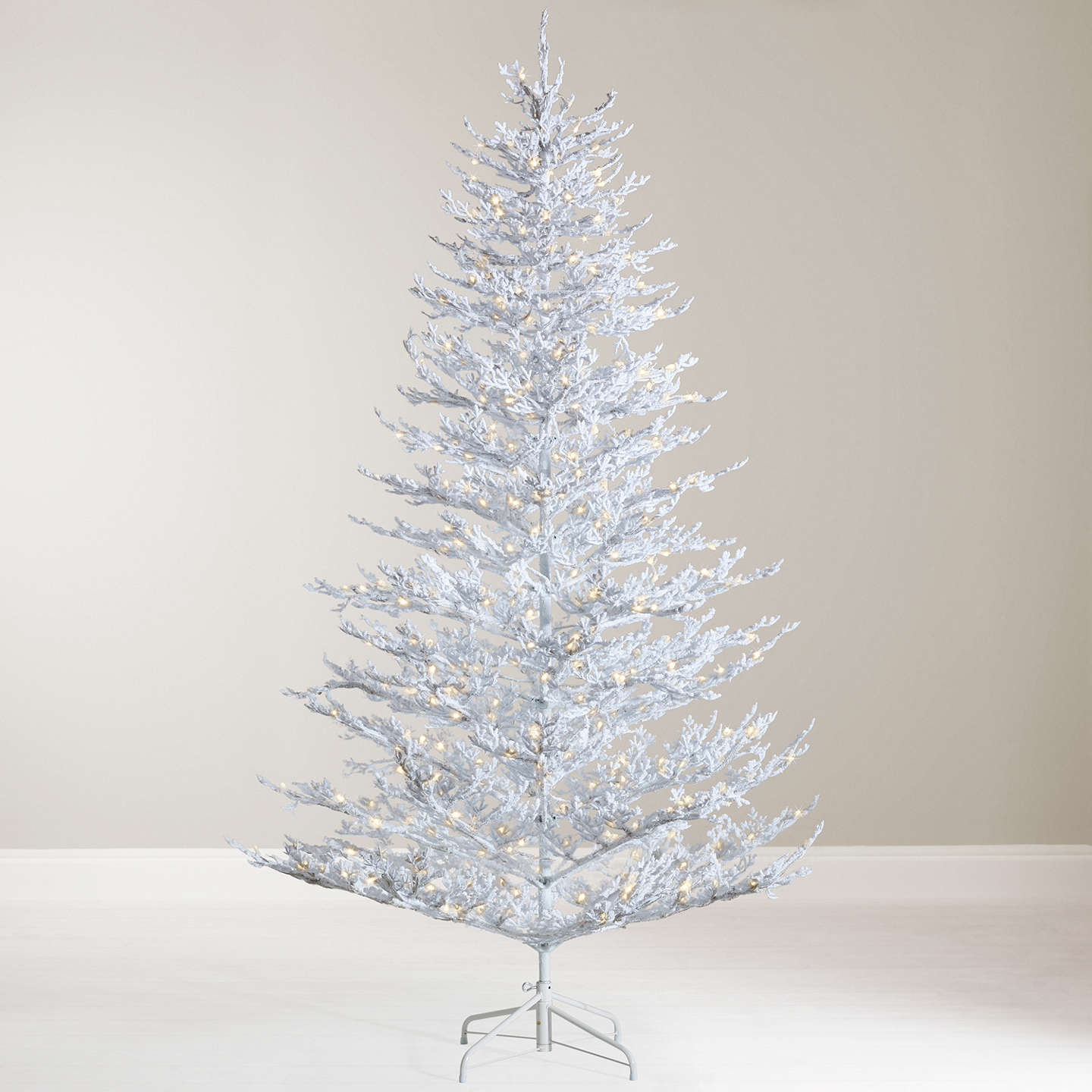 Buyjohn Lewis Snow Queen Pre Lit Christmas Tree, 7Ft Online At