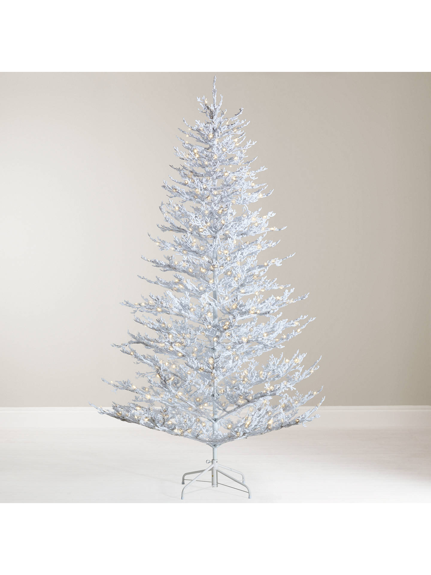 John Lewis Snow Queen Pre-Lit Christmas Tree, 7ft at John Lewis ...