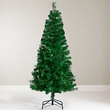 Buy John Lewis Tinsel Christmas Tree, 6ft Online at johnlewis.com