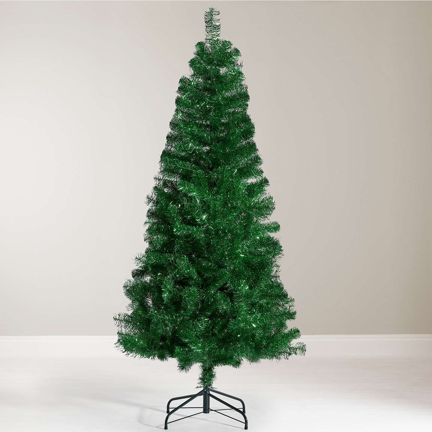 Buyjohn Lewis Tinsel Christmas Tree, 6Ft Online At Johnlewiscom