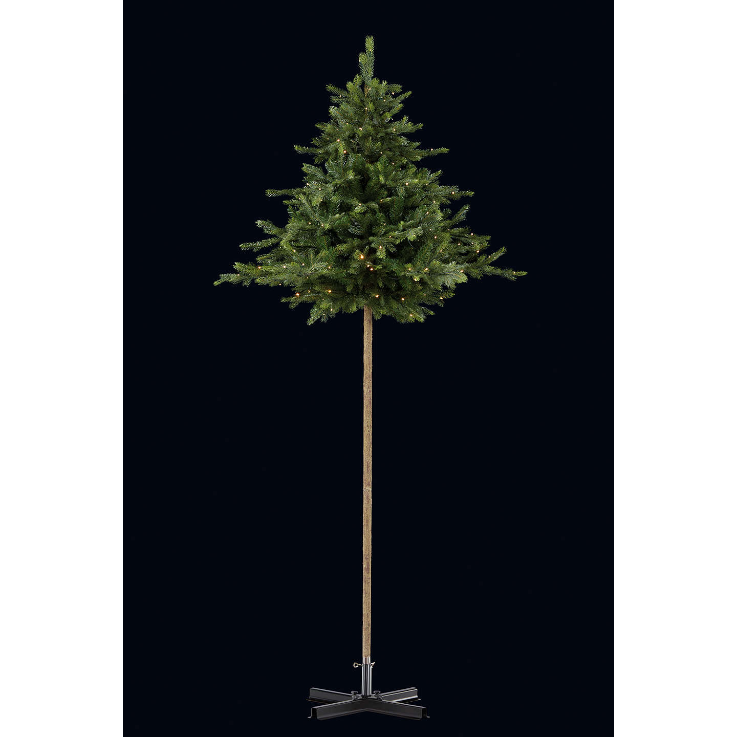 BuyJohn Lewis Isla Pre-Lit Parasol Christmas Tree, 9ft Online at johnlewis.com