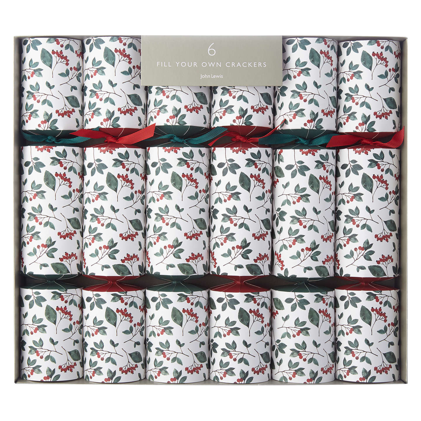 John lewis folklore cranberry fill your own christmas crackers pack buyjohn lewis folklore cranberry fill your own christmas crackers pack of 6 online at johnlewis solutioingenieria Gallery