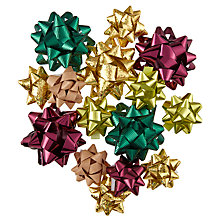 Buy John Lewis Into The Woods Christmas Gift Wrap Bows, Pack of 15 Online at johnlewis.com