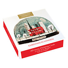 Buy Museums and Galleries Christmas in London Charity Christmas Cards, Assorted, Pack of 20 Online at johnlewis.com