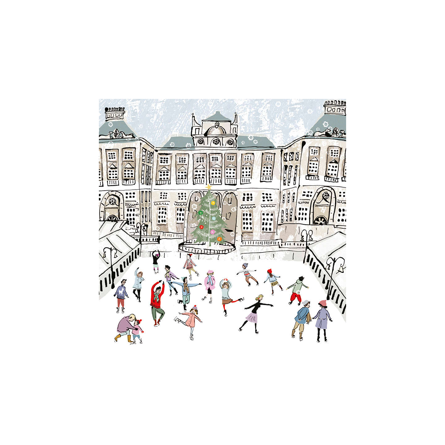 Buymuseums And Galleries Christmas In London Charity Christmas Cards, Assorted,