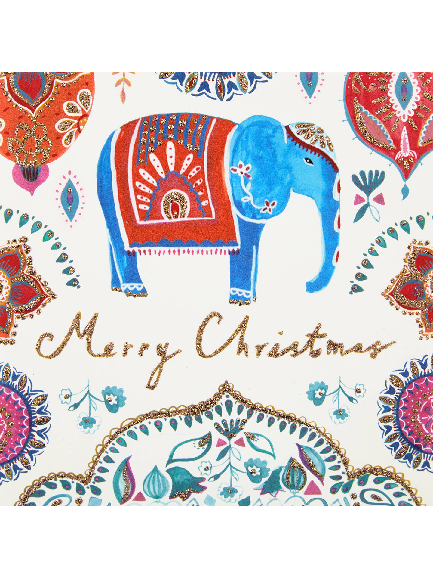 John Lewis Merry Christmas Elephant Charity Christmas Cards, Pack of ...