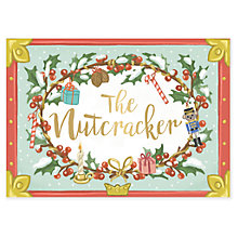 Buy The Nutcracker Musical Christmas Card Online at johnlewis.com