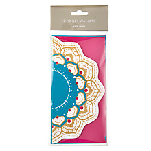 Buy John Lewis Tales of the Maharaja Christmas Money Wallet, Pack of 2, W10 x L19.5cm, Multi Online at johnlewis.com