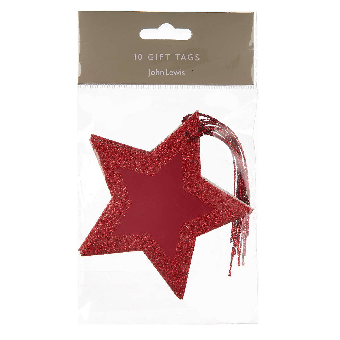 Buyjohn Lewis Tales Of The Maharaja Red Star Gift Tags,