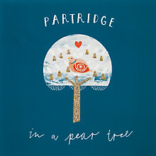 Buy John Lewis Partridge Tree Charity Christmas Cards, Pack of 6 Online at johnlewis.com