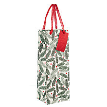 Buy John Lewis Pine Needle Bottle Gift Bag Online at johnlewis.com