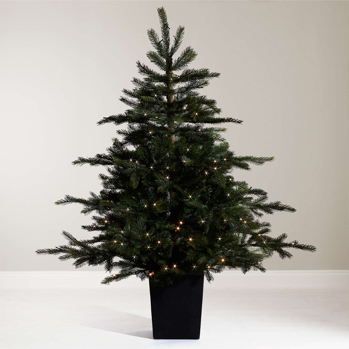Buyjohn Lewis Isla Emerald Pre Lit Potted Christmas Tree, 45Ft Online