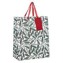 Buy John Lewis Pine Needles Medium Gift Bag Online at johnlewis.com