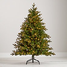 Buy John Lewis Kensington Pre-Lit Christmas Tree, 5ft Online at johnlewis.com