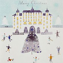 Buy John Lewis Palace Skating Charity Christmas Cards, Pack of 6 Online at johnlewis.com