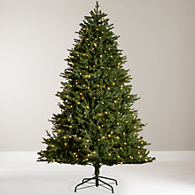 Buy John Lewis Pre Lit Monarch Fir Christmas Tree, 7.5ft Online at johnlewis.com