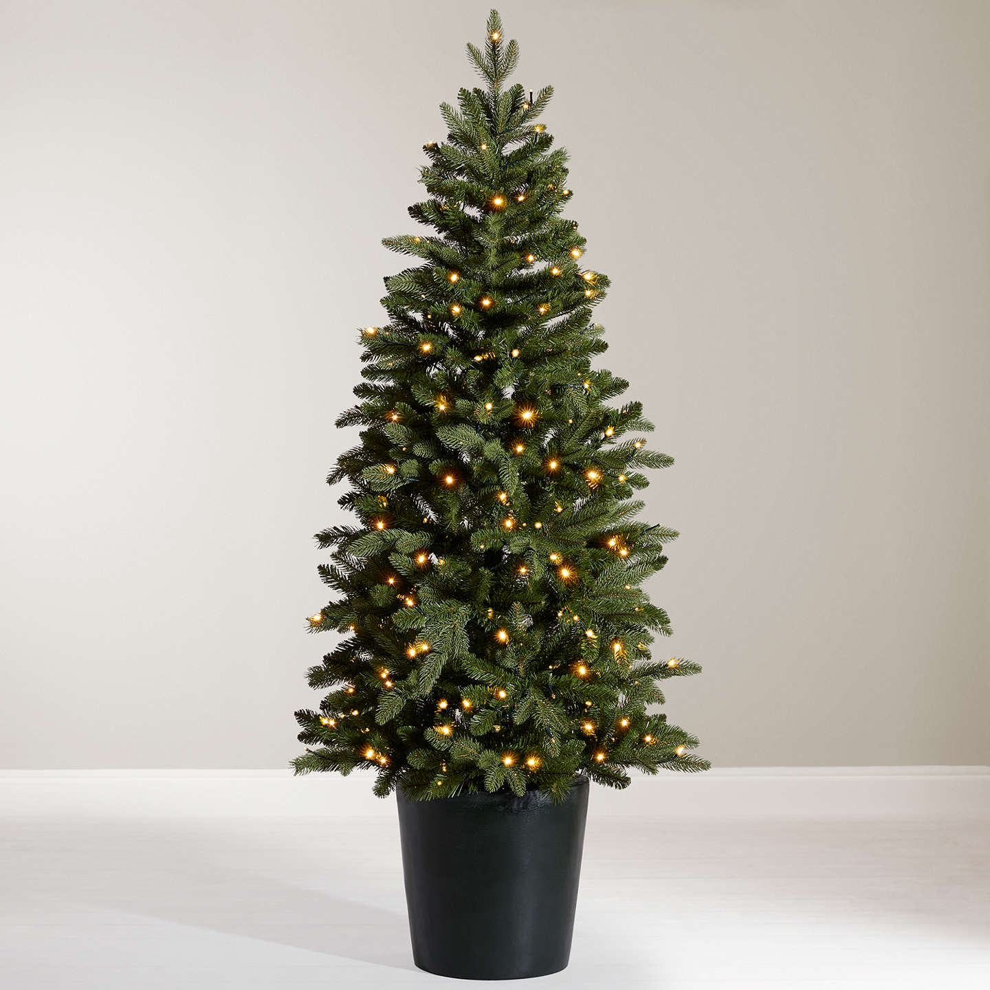 Buyjohn Lewis Bala Pre Lit Potted Fir Christmas Tree, 55Ft Online