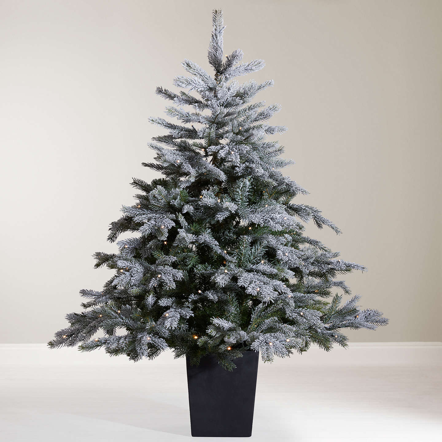 Buyjohn Lewis Isla Mist Pre Lit Potted Christmas Tree, 45Ft Online