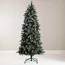 Buy John Lewis Pre-Lit Foxtail Pine Christmas Tree, 6.5ft Online at johnlewis.com