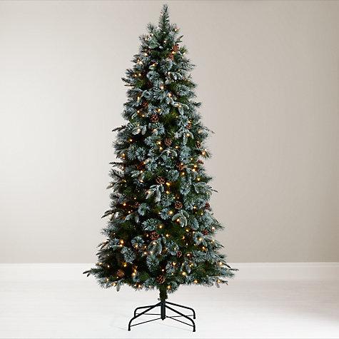Buy John Lewis Pre-Lit Foxtail Pine Christmas Tree, 6.5ft Online at  johnlewis ...