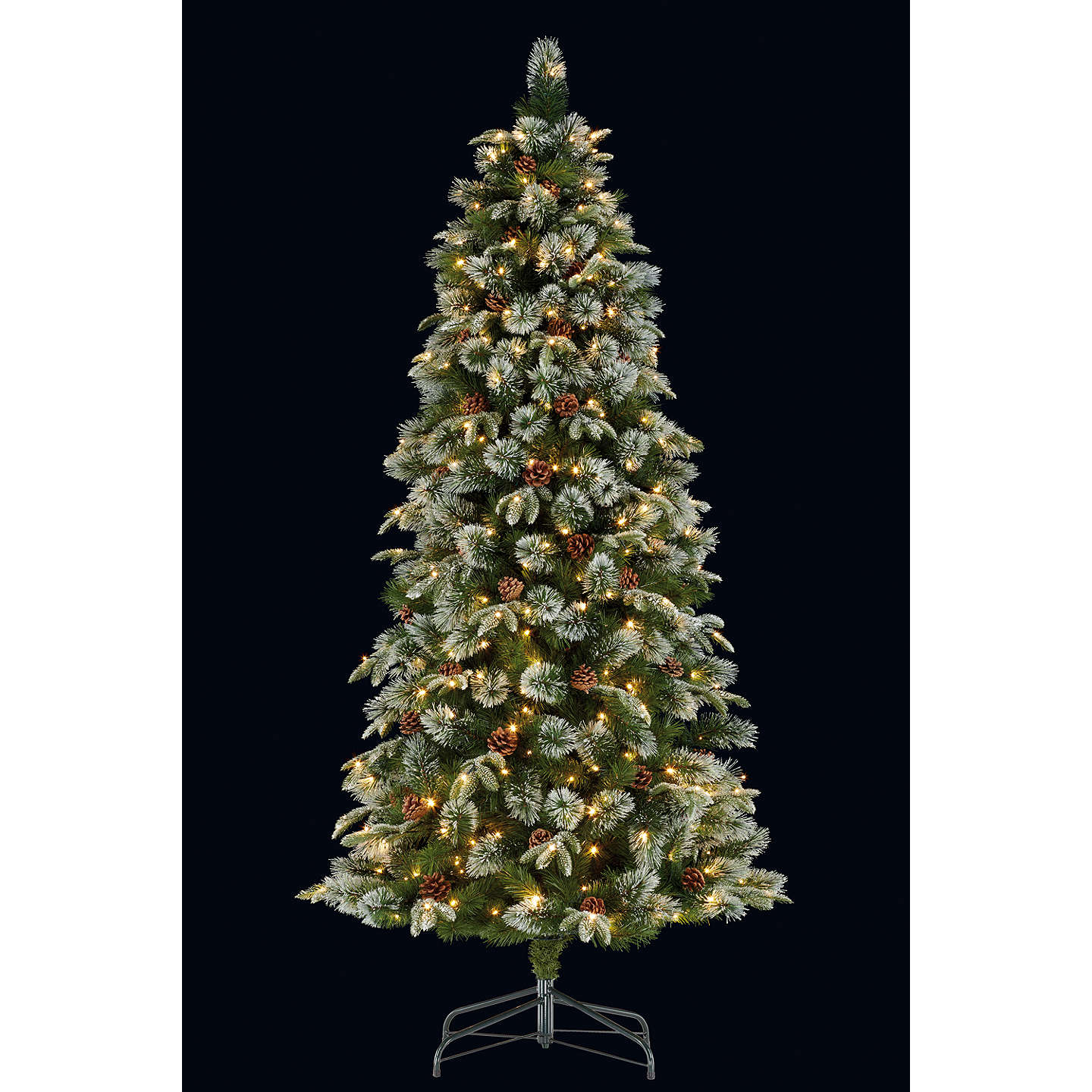 Buyjohn Lewis Pre Lit Foxtail Pine Christmas Tree, 65Ft Online At