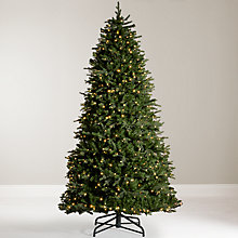 Buy John Lewis Pre Lit Monarch Fir Christmas Tree, 9ft Online at johnlewis.com
