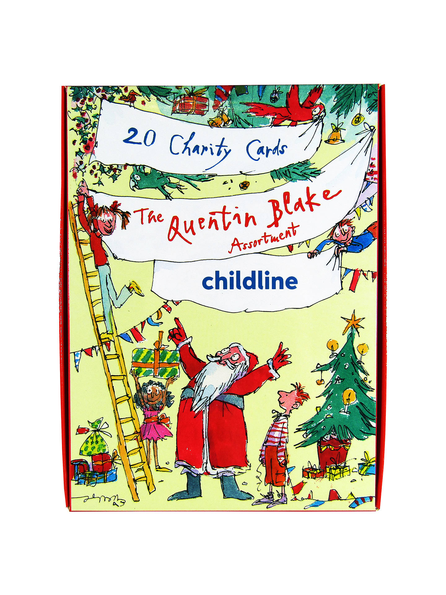 Woodmansterne Quentin Blake Charity Christmas Cards Pack Of 20 At