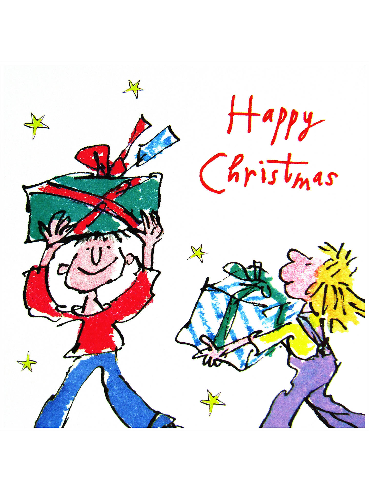 BuyWoodmansterne Quentin Blake Charity Christmas Cards, Pack of 20 Online at johnlewis.com